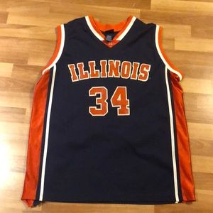 Illinois Men's Large Jersey